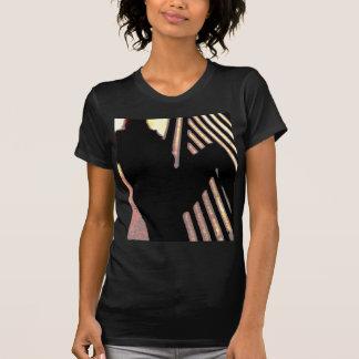 De in de schaduw gestelde Veelvoudige Producten T-shirt