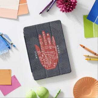 De indigo-Kleurstof van de Lezing van de Palm van iPad Pro Cover