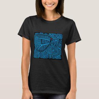De Indische Blauwe Vogel van Kuna T Shirt