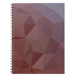 De Indische Rode Abstracte Lage Achtergrond van de Notitieboek