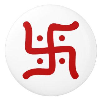de Indische traditionele Hindoese godsdienst van Keramische Knop