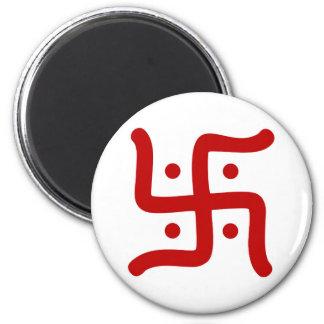 de Indische traditionele Hindoese godsdienst van Magneet