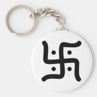 de Indische traditionele Hindoese godsdienst van Sleutelhanger