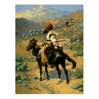 De Indische Trapper van Frederic Remington's Briefkaart