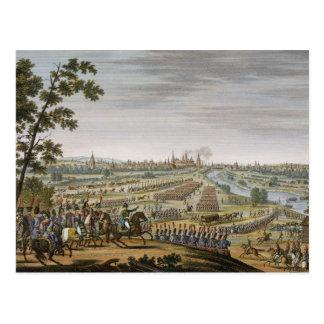 De ingang van de Fransen in Moskou, 14 September Briefkaart