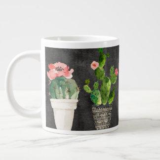 De ingemaakte jumbomok van Cactussen Grote Koffiekop