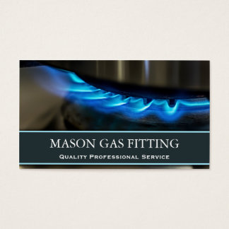 De Ingenieur van het gas/het Geschiktere Visitekaartjes