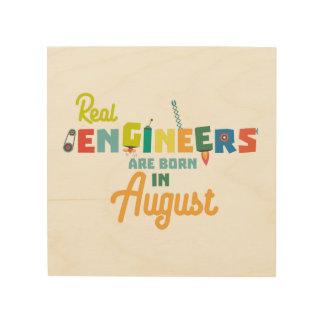 De ingenieurs zijn geboren in Augustus Z479b Hout Afdruk