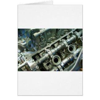 De Ingewanden van de Motor van de motor Briefkaarten 0
