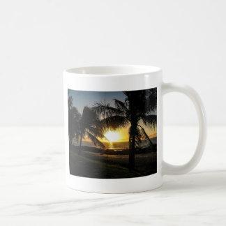De Inham van de Haaien van de Zonsondergang van Koffiemok
