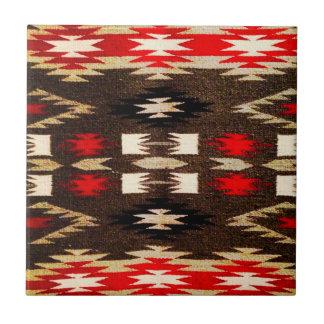 De inheemse Amerikaanse Druk van het Ontwerp van N Tegeltje