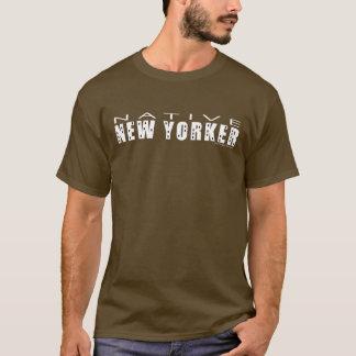 De inheemse T-shirt van het Mannen van Newyorker