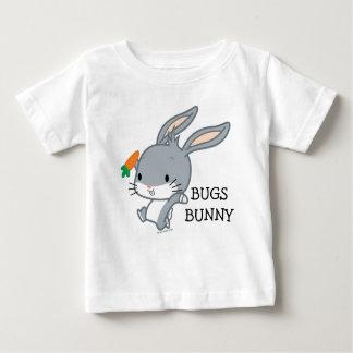 De INSECTEN BUNNY™ van Chibi met Wortel Baby T Shirts