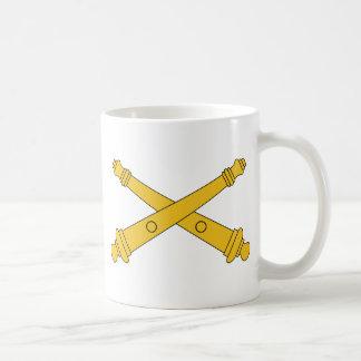 De Insignes van de Artillerie van het gebied Koffiemok