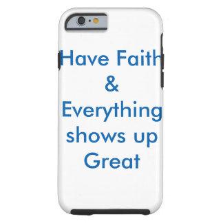 De inspirerende dekking van het telefoonHoesje Tough iPhone 6 Hoesje
