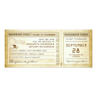 de instapkaart bewaart de datumkaartjes met 10,2x23,5 uitnodiging kaart