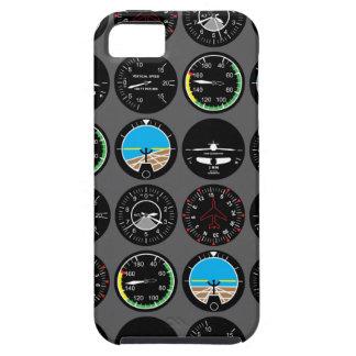 De Instrumenten van de vlucht Tough iPhone 5 Hoesje