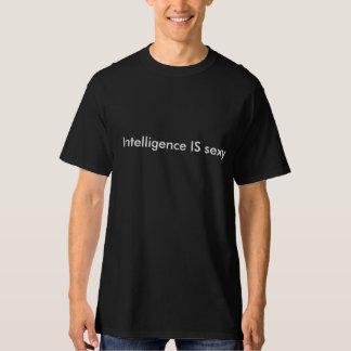 De intelligentie IS sexy Shirt