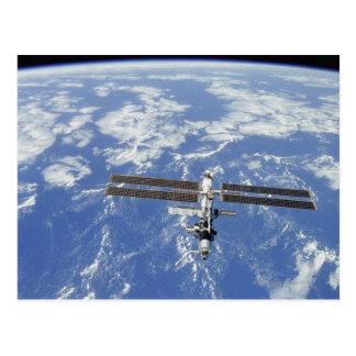De internationale cirkelende Aarde van het Briefkaart