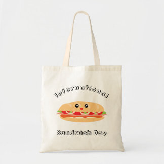 De internationale Dag van de Sandwich Draagtas