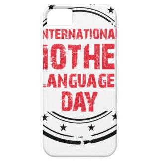 De internationale Dag van de Taal van de Moeder Barely There iPhone 5 Hoesje