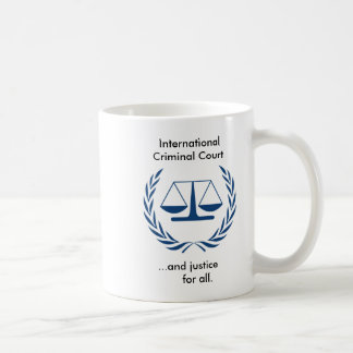 De internationale Misdadige Reeks van het Hof Koffie Mokken