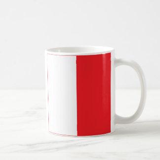 De internationale Vlaggen H van het Alfabet Koffiemok