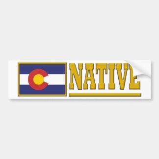 De Inwoner van Colorado Bumpersticker