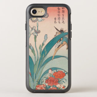 De Iris en Wilde Pinks GalleryHD van de Ijsvogel OtterBox Symmetry iPhone 8/7 Hoesje