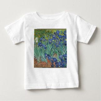 De Irissen die van Vincent van Gogh het Werk van Baby T Shirts