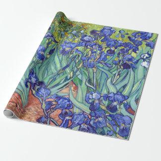 De Irissen van Vincent van Gogh Inpakpapier