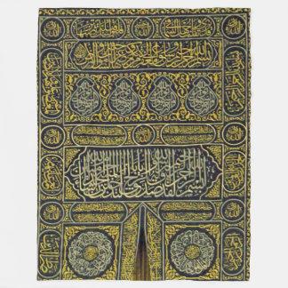De Islamitische Moslim Arabische Kalligrafie Hajj Fleece Deken