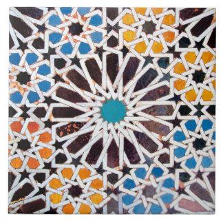 De Islamitische Tegel van de Foto van het Patroon Tegeltje