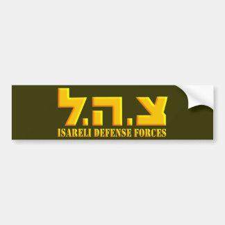 De Israëlische Krachten van de Defensie Bumpersticker