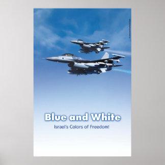 De Israëlische Vrijheid van de Luchtmacht Poster