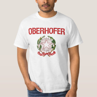 De Italiaanse Achternaam van Oberhofer T Shirt