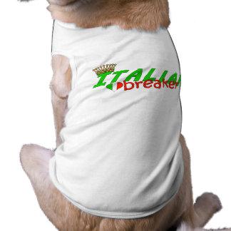 De Italiaanse Breker van het Hart met Kroon T-shirt