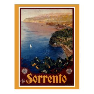 De Italiaanse reis van vintage jaren '20Sorrento Briefkaart