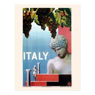 De Italiaanse reis van vintage jaren '30Italië Briefkaart