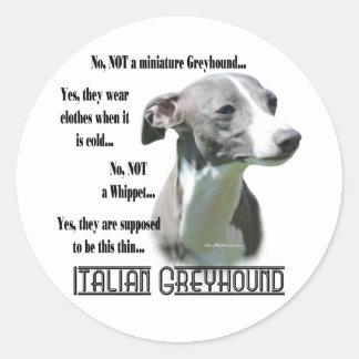 De Italiaanse Sticker van de Windhond FAQ