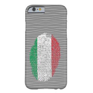 De Italiaanse vlag van de aanrakingsvingerafdruk Barely There iPhone 6 Hoesje