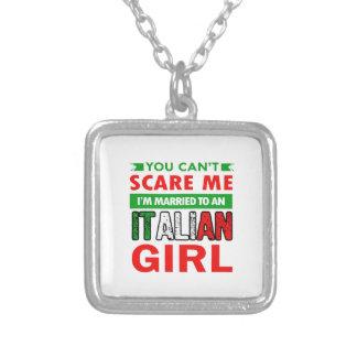 De Italiaanse Vrouw van de Vrouw Zilver Vergulden Ketting