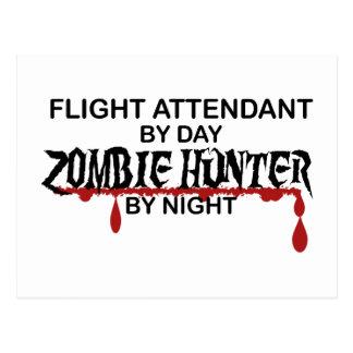 De Jager van de Zombie van de steward Briefkaart