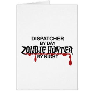 De Jager van de Zombie van de verzender Briefkaarten 0