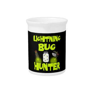de jager van het blikseminsect drink pitcher