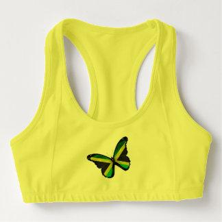 De Jamaicaanse Vlinder van de Vlag Sport BH