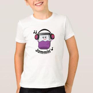 De Jampot van Jammin met de T-shirt van de