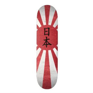 """De Japanse het Toenemen Vlag van de Zon met """"Japan Persoonlijk Skateboard"""