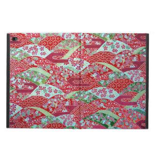 De Japanse Rode BloemenOrigami Yuzen van de Kunst