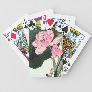 De JAPANSE Speelkaarten van de Pook van de BLOEM Bicycle Speelkaarten